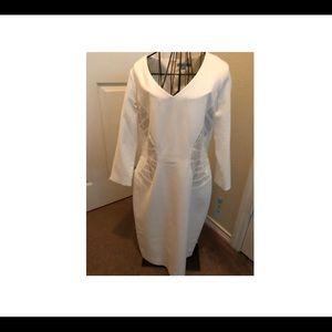 Dazzling Elegance Ivory Dress